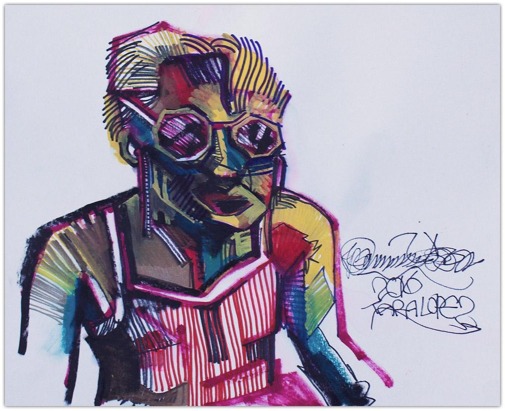 Bobby Castaneda Artist Painting