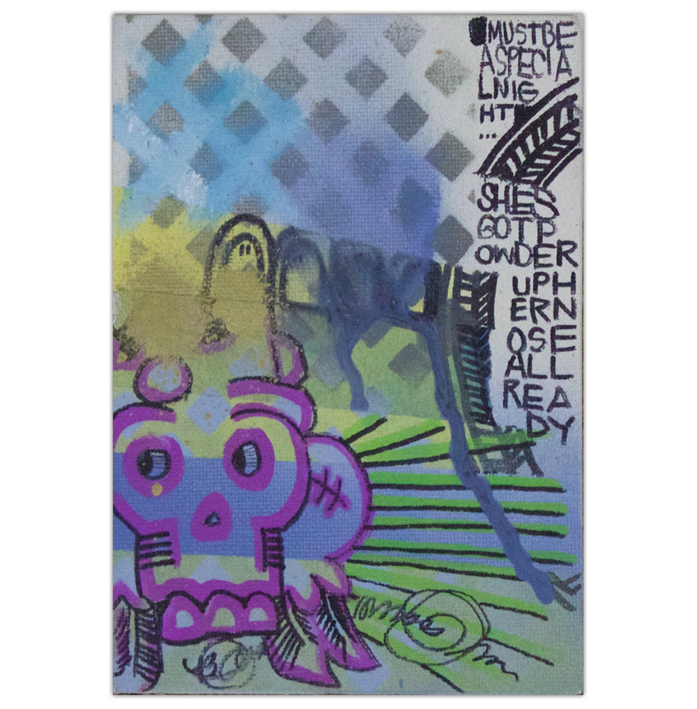 Bobby Castaneda Painting Untitled Artist