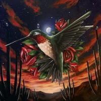 Bry Fin Hummingbird Painting