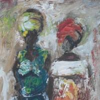 Deo Lutwama Artist Women Painting