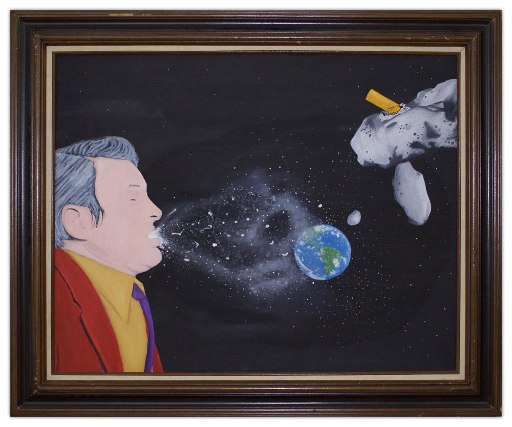 Hans Swanson Earth Painting Artist