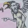 Heather Gargon Drawing Birds Artist