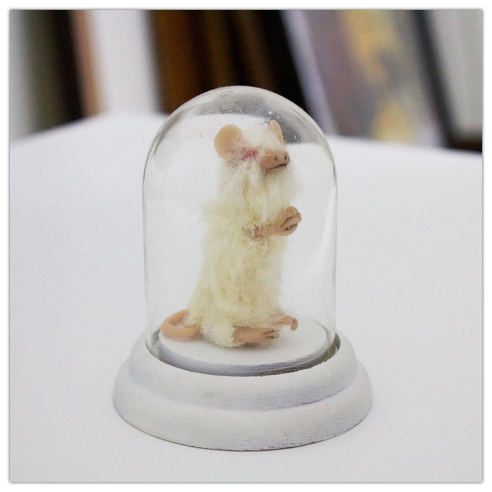 Heather Gargon Mouse Sculpture Artist