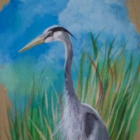J. Brown Painting Herron Artist