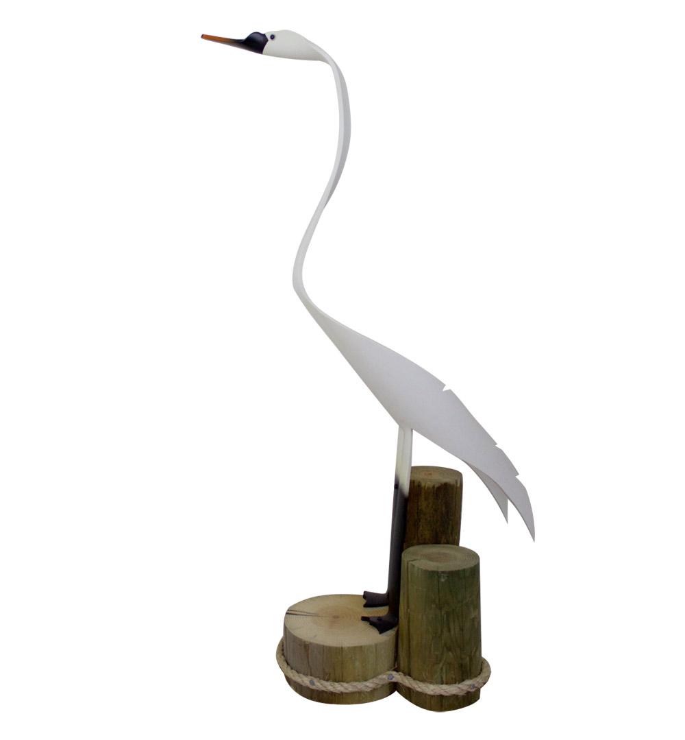 Jeff Linda Hayden Sculpture Swan Artist