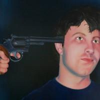 Kim Bridgford Portrait Tyler Miller Painting Artist