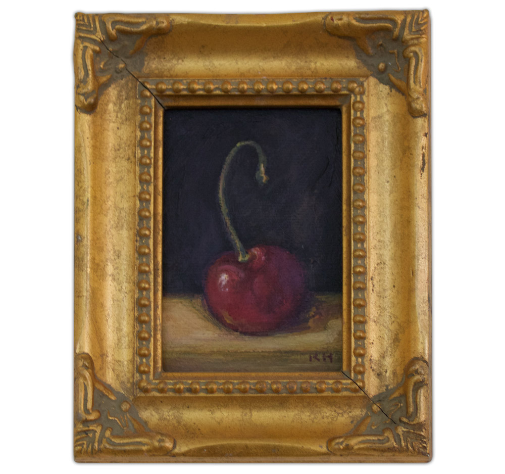 Kristine Holm Cherry Painting Artist