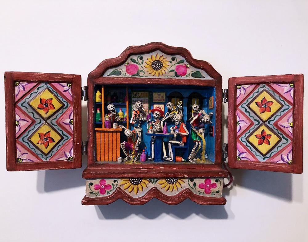 Nicario Jimenez Artist Retablo Andean Altarpieces