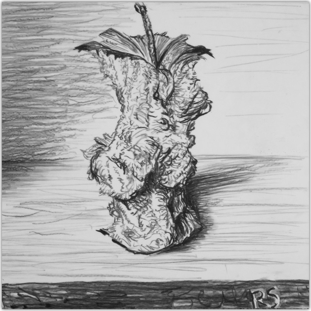 artist rick schaefer drawing apple
