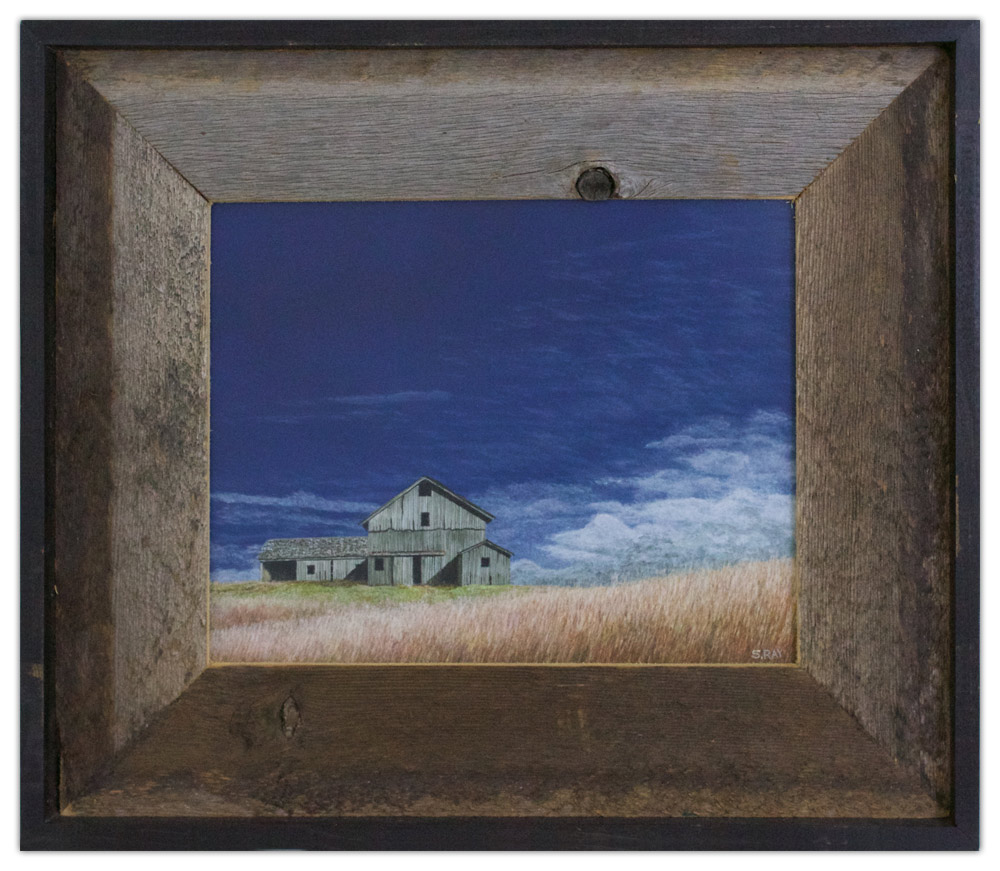 Stephen Ray Painting Connecticut Barn Artist