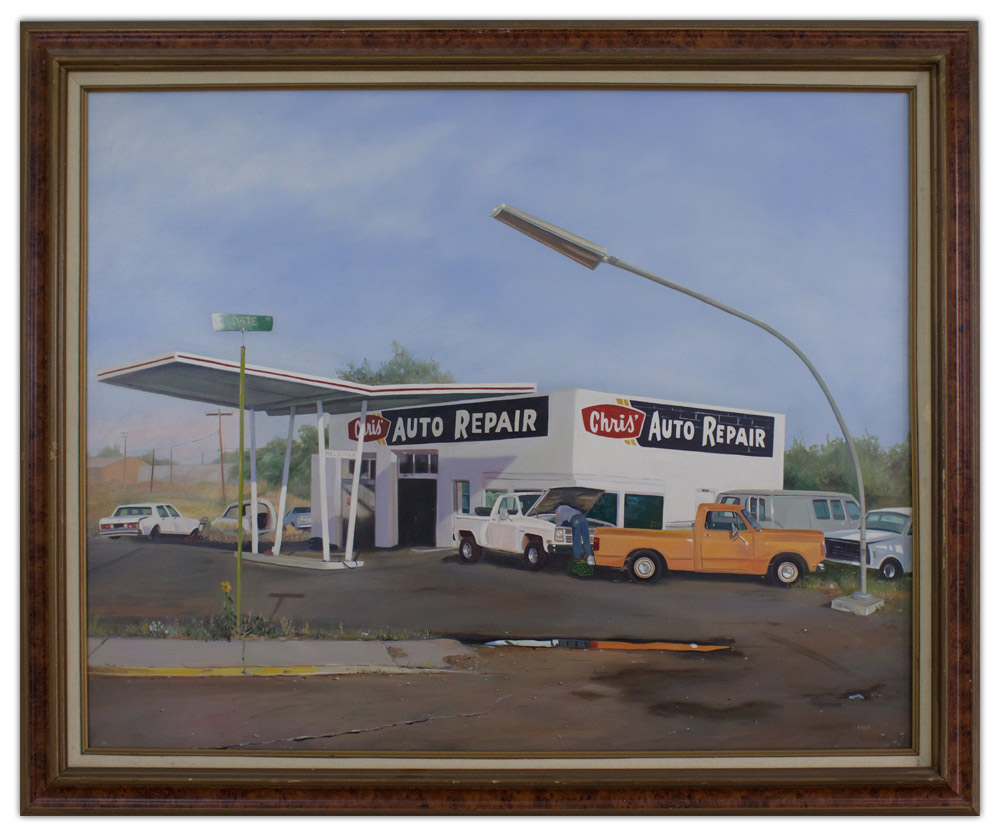 Suzanne M. Falk Auto Repair Painting Artist