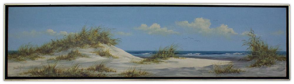 Suzy Aalund Painting Beach Scene Artist