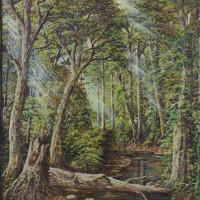 Webster Campbell Jamaica Forrest Painting Artist