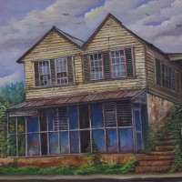Webster Campbell Jamaica House Painting Artist